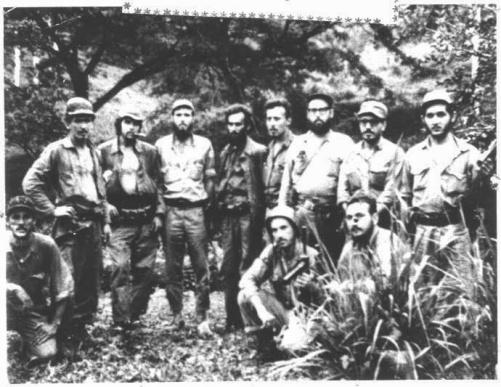1 Δεκέμβρη 1958, υπογραφή του Συμφώνου Pacto del Pedrero